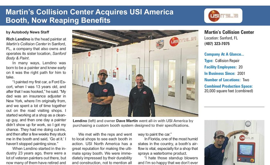 USI BOOTHS HELP FLORIDA SHOP TO SAVE TIME, ENERGY AND MONEY.